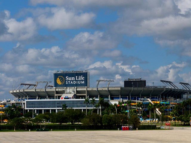 Hard Rock Stadium - Austragungsort des Super Bowl 2020