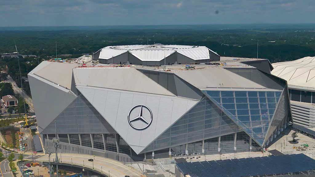 Mercedes-Benz Stadium - Super Bowl 2019