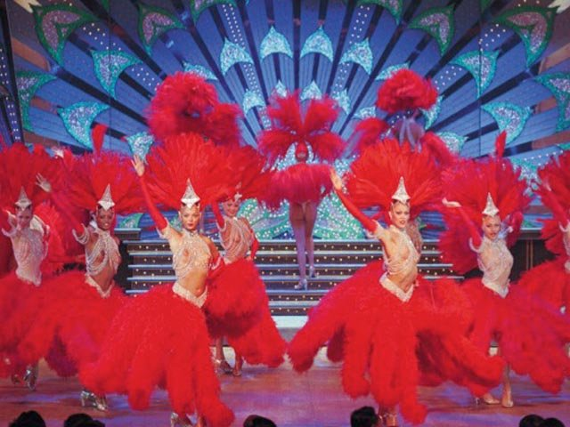 Das Musical Filmdrama Moulin Rouge in Paris