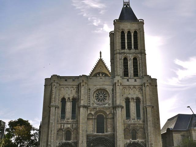 Die Kathedrale in Saint-Denis