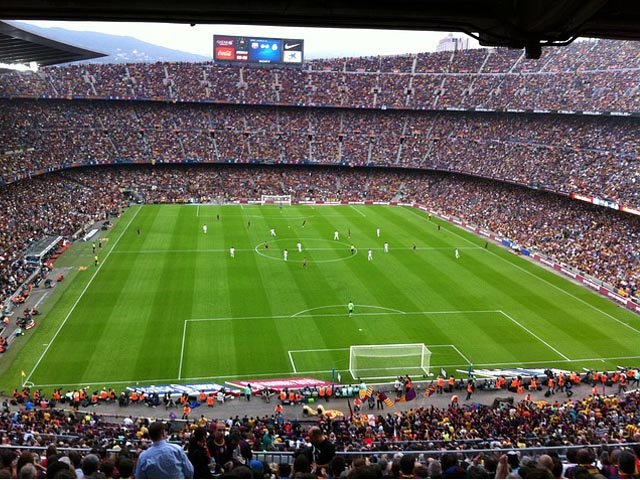 El Clasico FC Barcelona vs Real Madrid - Camp Nou