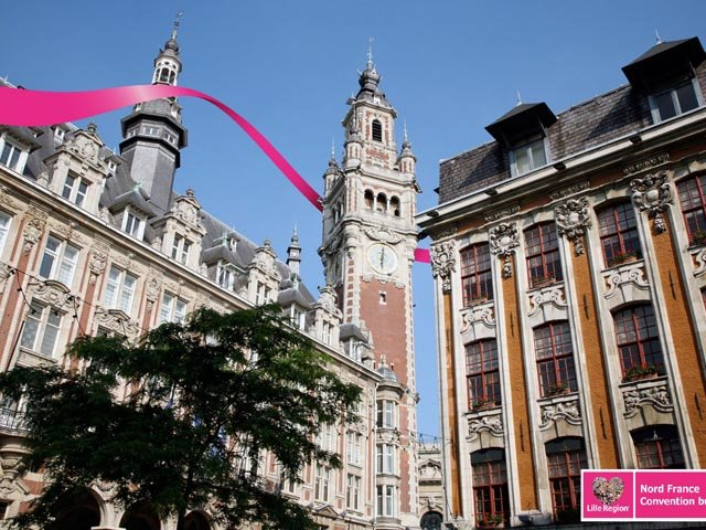 The Opera and Chamber of Commerce & Industry in Lille